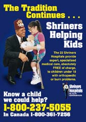Shriners Helping Kids