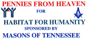 Tennessee Masons support Habitat for Humanity