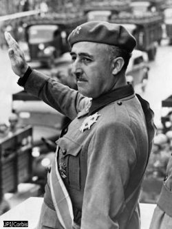 Francisco Franco, Spanish Dictator who imprisoned Masons