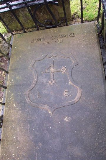 Scottish Grave of John Cowane, Stirling